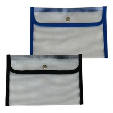 HS165: small snap mesh bag